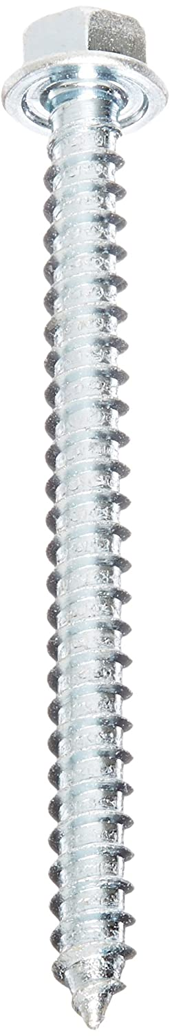 Hex Washer Head Zinc Plated Finish Small Parts 0608KW #6-20 Thread Size 1//2 Length Pack of 10000 Hex Drive Pack of 10000 #2 Drill Point 1//2 Length Steel Self-Drilling Screw