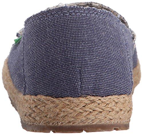 Azul Blue Sanuk Mocasines Slate Fiona Para Mujer nwx1CSpBq