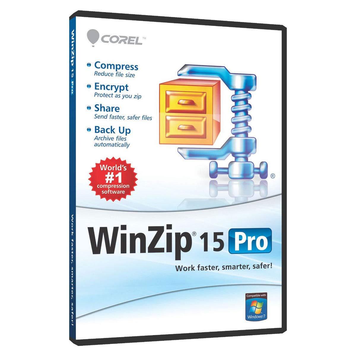 WinZip 15 0 Pro Full Version LifeTime License ⭐Download