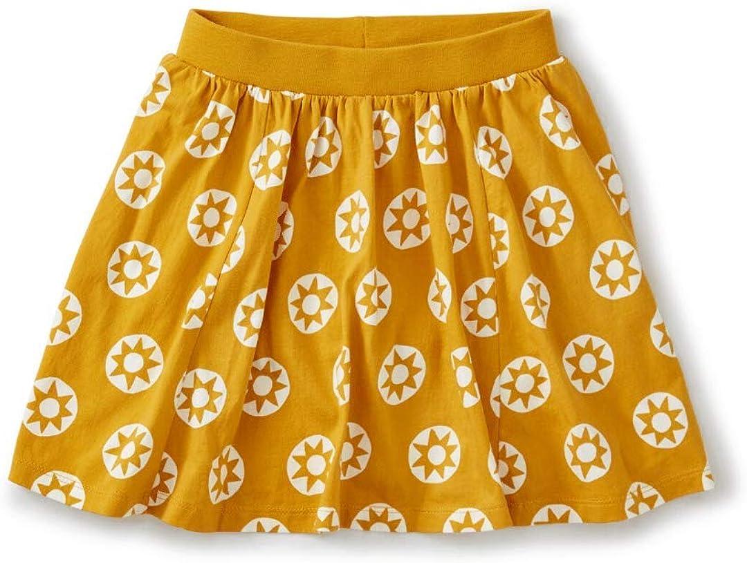 Tea Collection Kids Golden Sun Girls Twirl Skort