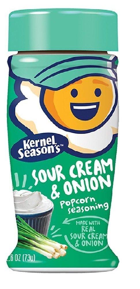 Kernel Seasons Sour Cream & Onion Popcorn Seasoning 73g