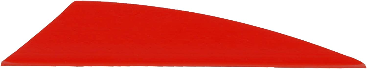 """TAC Vanes 2.75"""" Driver Hybrid Vanes, Red Vanes, Pack of 100, Vanes for Archery Bowhunting and Recreational Shooting : Sports & Outdoors"""