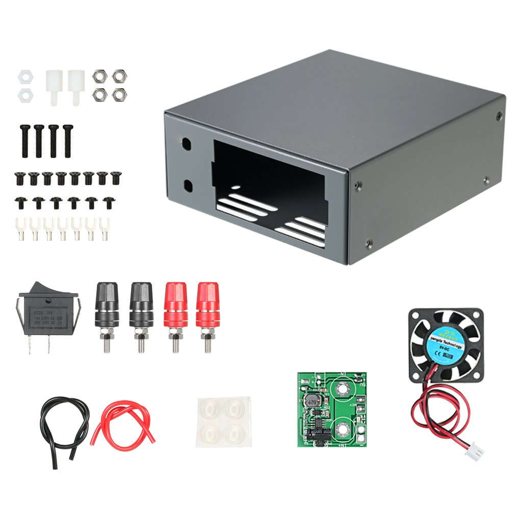 KKmoon RD DP DPH and DPS Power Supply DIY Housing Kit with Communication Interface Digital Constant Voltage Current Buck Converter Casing Only Box PEPAZUALAZA149