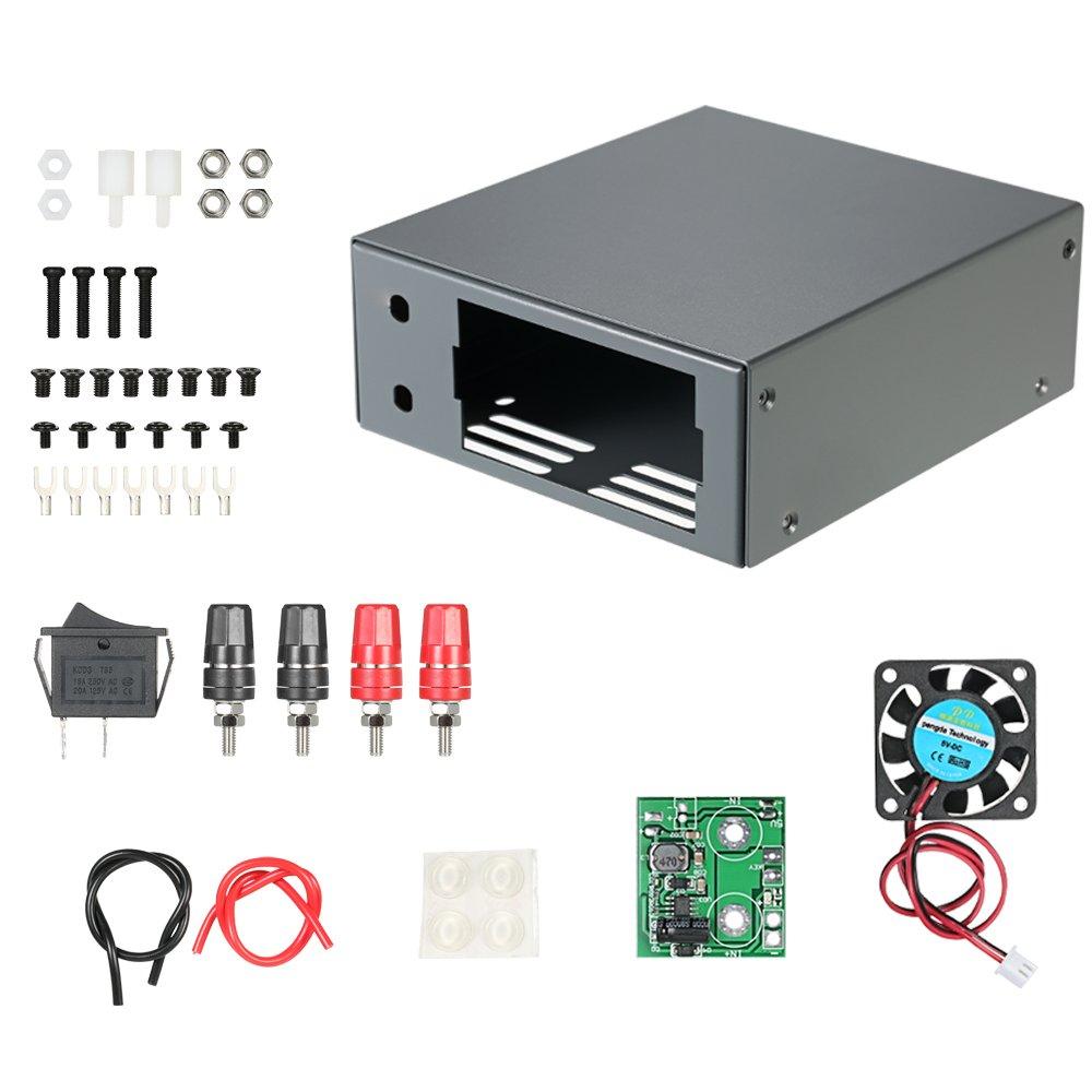 KKmoon Digital Konstante Spannung Gleichstromversorgung Energieversorgung DIY Gehäuse Kit (Nur Box) RD DP DPH DPS mit Kommunikation Schnittstelle Abwärtswandlergehäuse Power Supply Case product image