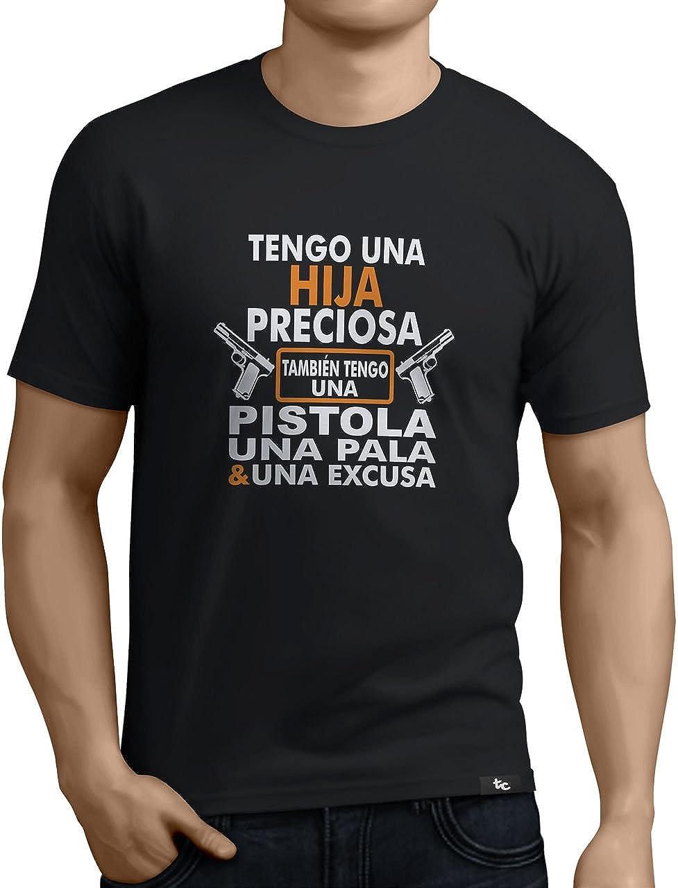 Tuning Camisetas - Camiseta Divertida para Hombre - Modelo Tengounahijapreciosa