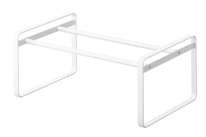 YAMAZAKI home 7209 Frame Adjustable Shoe Rack White