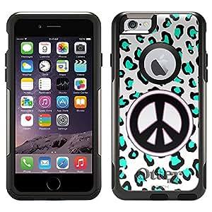 OtterBox Commuter Apple iPhone 6 Case - Peace Green Leopard OtterBox Case