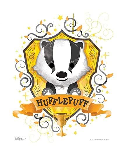 f0d7a13b MightyPrint Harry Potter – Wall Art – Hufflepuff – Officially Licensed Wall  – NOT Made of