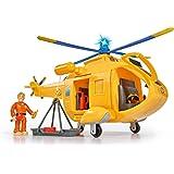 Simba 109251002 - Bombero Sam Wallaby II con la Figura de helicópteros.