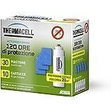 Thermacell 120 Ore Ricarica per Dispositivi per la Protezione dalle Zanzare, Bianco, 13.34x15.24x8.38 cm