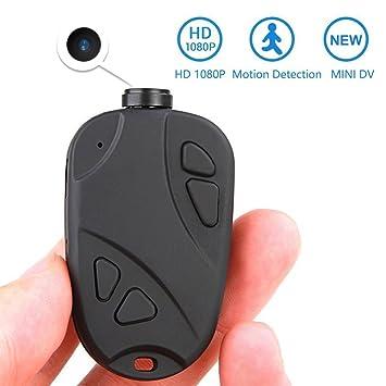 MATECam Mini Cámara Espía Oculta - Full HD 1080P DVR Grabadora de vídeo Mini Videocámara Detección de Movimiento: Amazon.es: Hogar