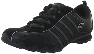 92abb1c4c991a Skechers Women s Bikers-Troopers Lace-Up Fashion Sneaker