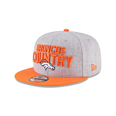 on sale 5cb61 da44f Image Unavailable. Image not available for. Color  New Era Authentic Denver  Broncos Heather ...