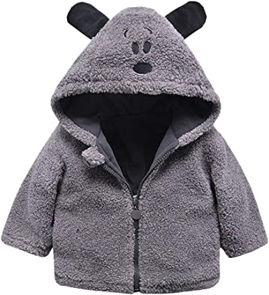 Lifestyler Girls Winter Hooded Coat Cloak Jacket Thick Warm Clothes Zipper Casual Fashion Outwear