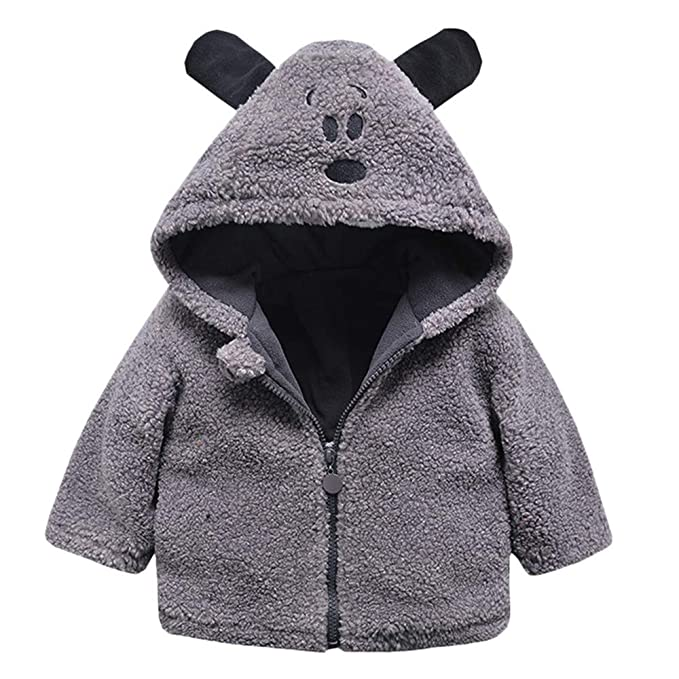 SMALLE ◕‿◕ Clearance,Baby Infant Girls Boys Autumn Winter Hooded Coat Cloak Jacket