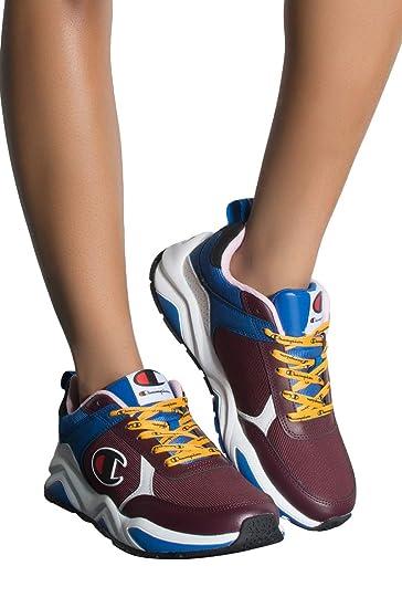 e01f599edbf68 Amazon.com  CHAMPION Youth GS 93 Eighteen Block Sneaker Trainers  Clothing