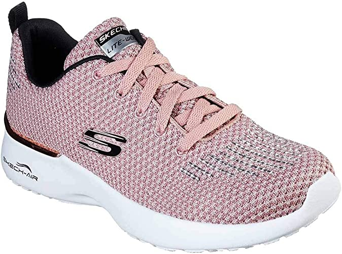Zapatilla Skechers Mujer Air Dynamight GrisNegra 12946 BKMTBLACK