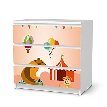 Klebefolie Ikea kindermöbel klebefolie für ikea malm 3 schubladen möbel sticker