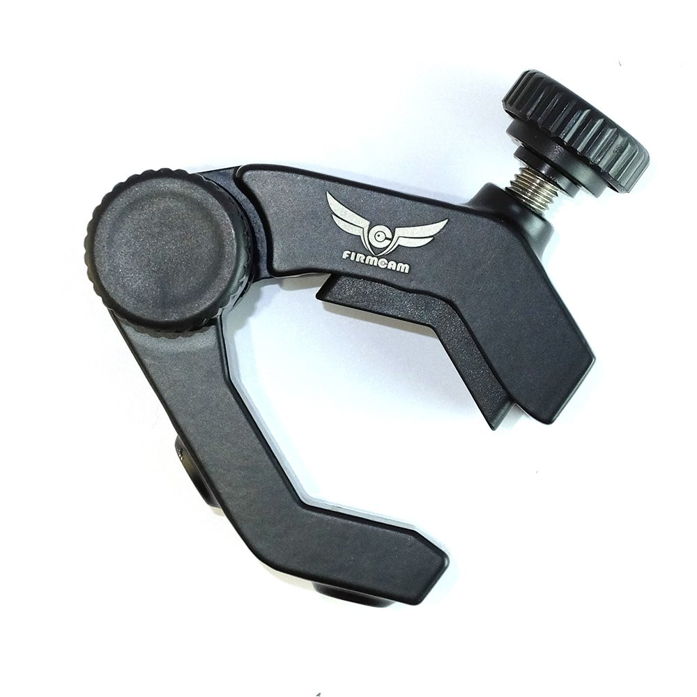 soporte de sujeci/ón Magic Arm de Firmcam Parrot Pinza de tr/ípode con cabezal de bola doble