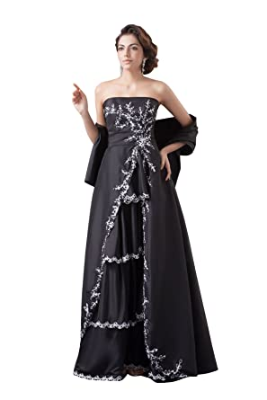 c4f889dcf3b64  Wonderfulドレス  ロングドレス 披露宴 肩掛け付き 演奏会ドレス 160 パーティードレス 結婚