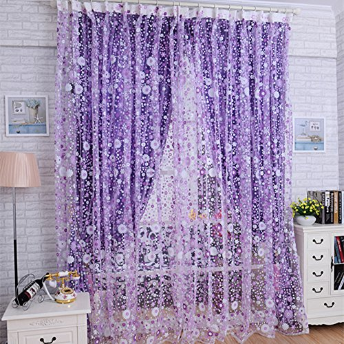 Decorative Sheer Curtains Amazon Com