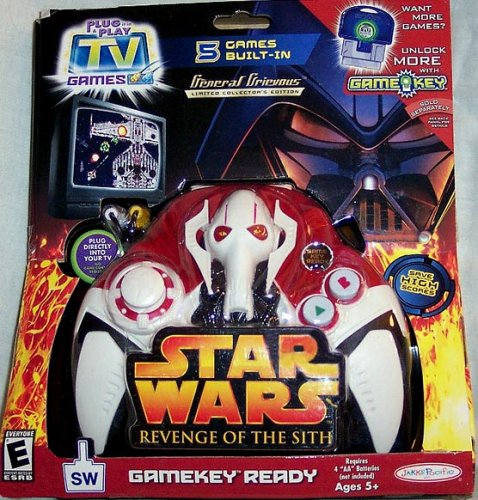 Star Wars Revenge of the Sith General Grievous Plug it in & play TV Game - General Grievous Toy