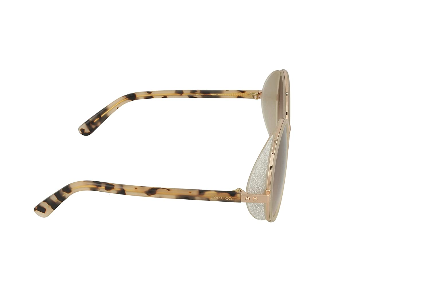 5565544aff87 Amazon.com  Jimmy Choo Women s Andie S Gold Copper Brown Mirror Gold  Sunglasses  Jimmy Choo  Clothing