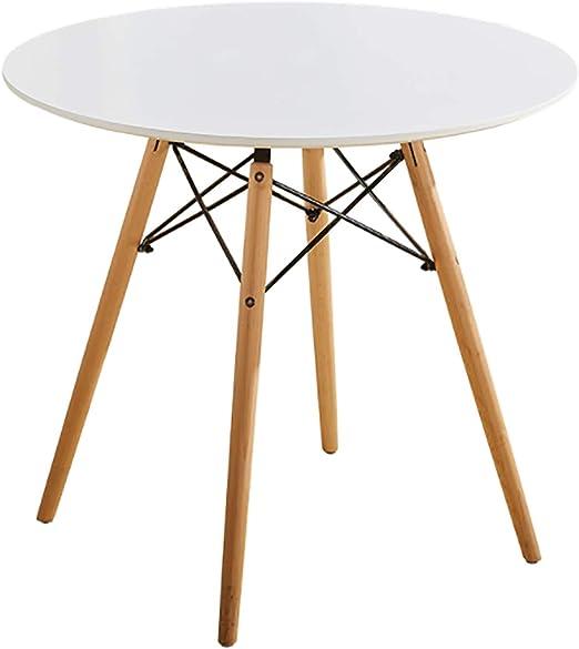 ELLEXIR Mesa de Comedor Redonda Mesa de diseño Eiffel 100 cm Ocio ...
