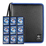 DACCKIT Carrying Case Compatible with Pokemon Trading Cards, Cards Collectors Album with 30 Premium 9-Pocket Pages, Holds Up to 540 Cards
