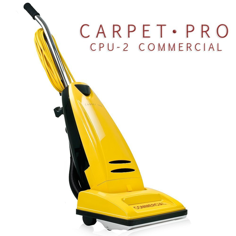 Carpet Pro Commercial CPU 2 Upright Vacuum Cleaner CPU-2