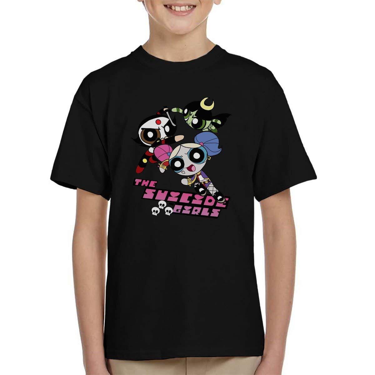 Chamtee The Power Puff Suicide Girls Tshirt