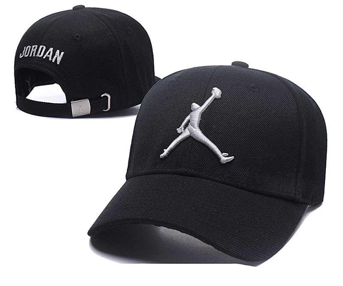 b1fc25f40eb Jordan Sports Caps Men Women Cotton Running Caps Sport Hat Street Snapback  Cap Sun Hats Street Hip-hop Basketball Caps at Amazon Men s Clothing store