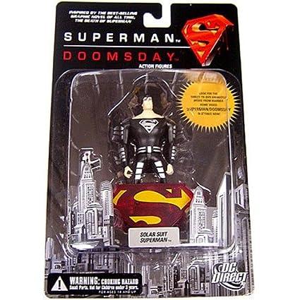 DC Direct: Superman/Doomsday Solar Suit Superman Action Figure