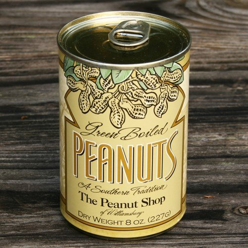 - The Peanut Shop of Williamsburg Peanuts, Green Boiled, 8 Ounce