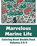 Marvelous Marine Life Coloring Book Double, Various, 149427602X