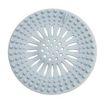 Abfluss Sieb Haarsieb aus Edelstahl mit Griff 80mm für Dusche und Badewanne