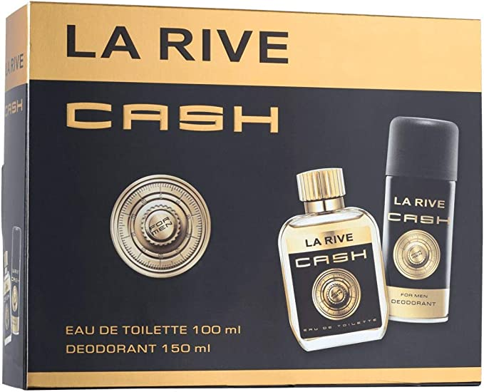 La Rive Cash gift set for men, eau de