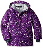 youth insulated jacket - Under Armour Outerwear Youth Girls Cold Gear Infrared Power Line Ins Jacket, Indulge/Overcast Gray, Large