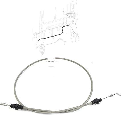 Puerta corredera exterior cable de mango, SWB, 4170588: Amazon.es ...