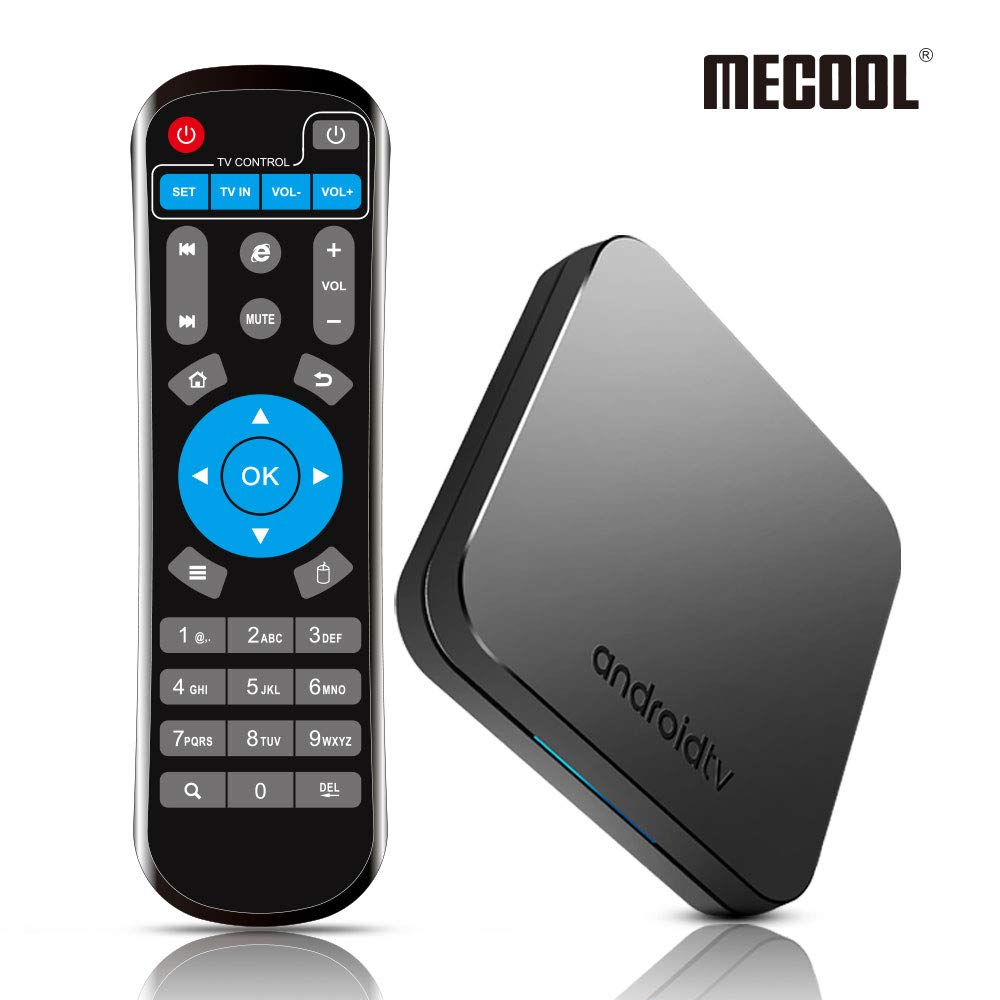 Android 9.0 TV Box, MECOOL New Generation Smart TV Box with Amlogic S905X2 Quad-Core, 4GB RAM 32GB ROM, Support 2.4G/ 5G Dual Band WiFi 4K Full HD BT 4.0