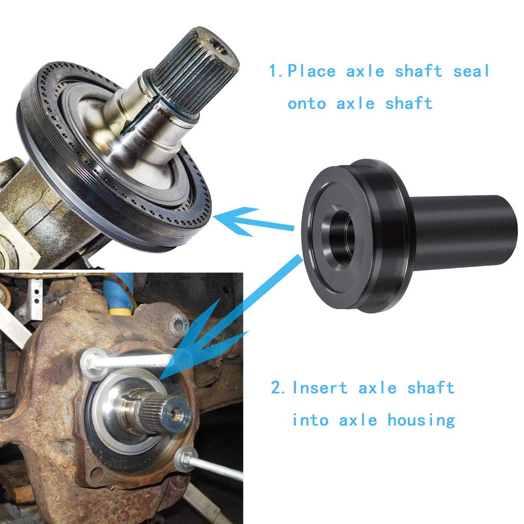 Royalo Axle Shaft Seal Installer for Ford F-250/350 Wheel Knuckle Vacuum Oil Seal Replacement Service Tool 2006 to Current by Royalo (Image #2)