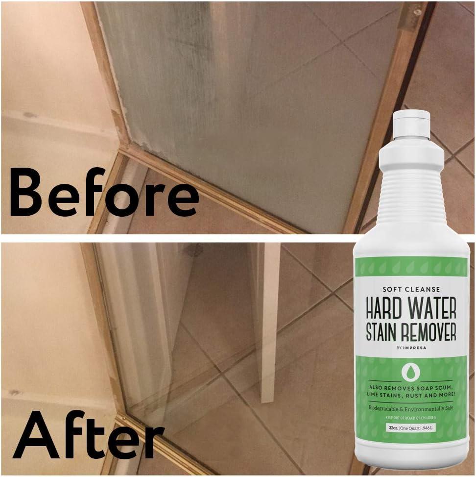 Removedor de manchas de agua dura (32 oz) – Producto de limpieza ...