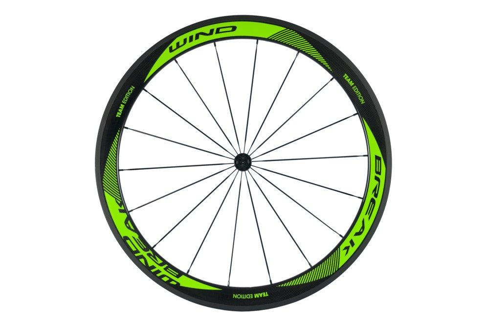 Sunrise Bike Carbon Fiber Road Wheelset Clincher Wheels 50mm Depth R13 Hub Decal Bicycle Rims