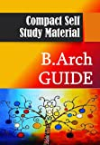 B.Arch Guide For Self Study
