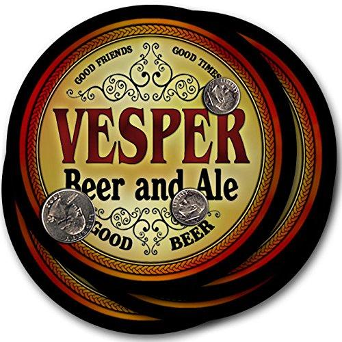 Vesperビール& Ale – 4パックドリンクコースター   B003QX8R7G