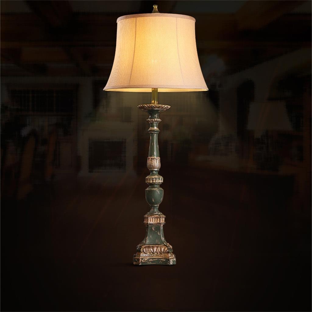 European American Tuch-Kunst-Wohnzimmer Schlafzimmer Schreibtischlampe Retro Restaurant