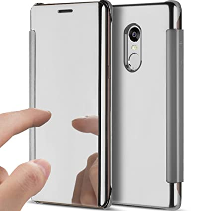 YSIMEE Funda Xiaomi Redmi note 4,Carcasa Clear View Cover ...
