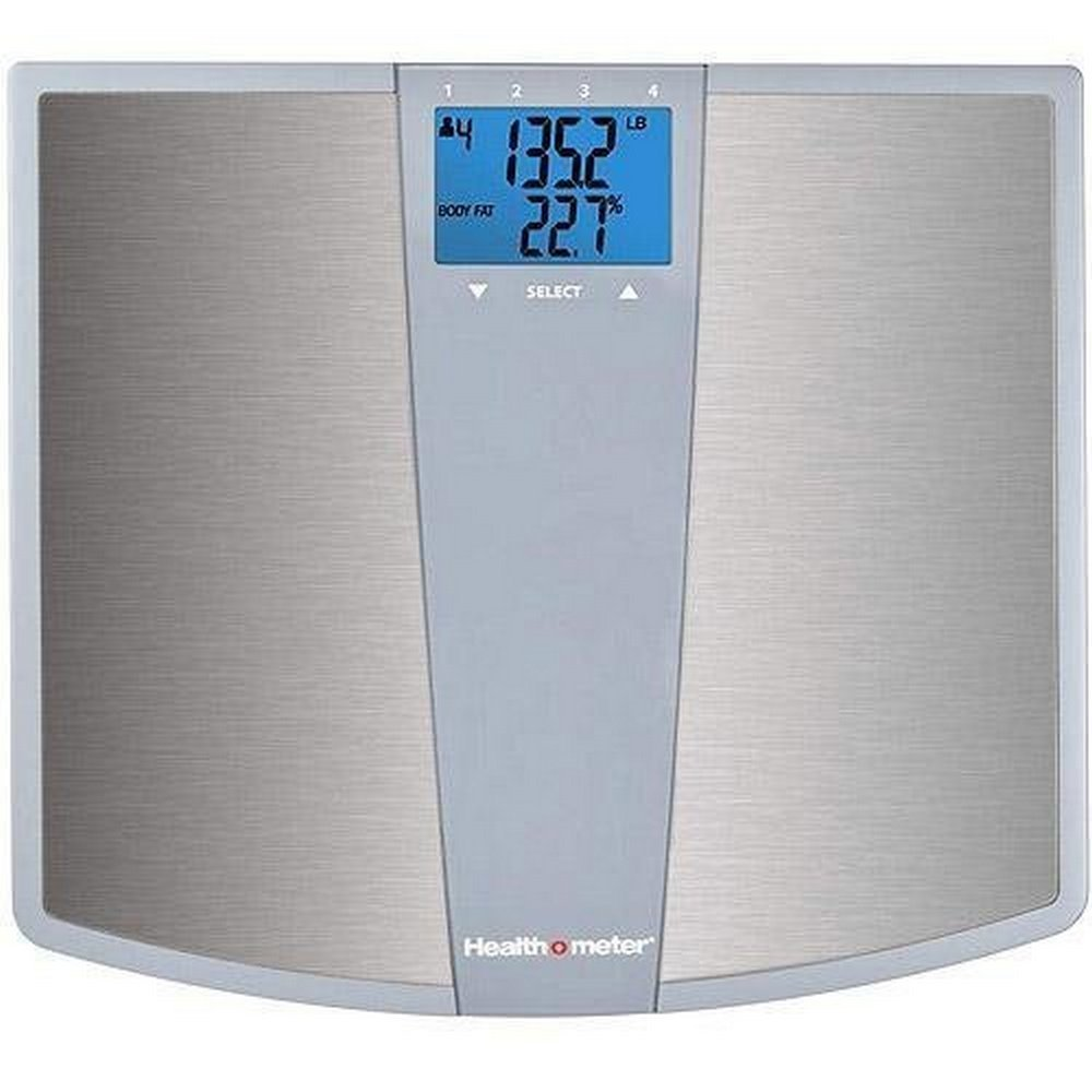 Health-o-meter BFM144DQ3-99 Stainless Steel Body Fat Scale, 4.15 Pound