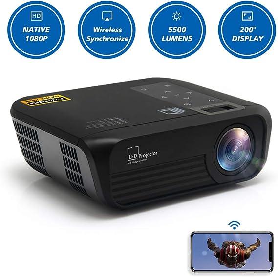 CROSSMIND Native 1080p Full HD Projector