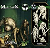(US) Wyrd Miniatures Malifaux Resurrectionists Mindless Zombies Model Kit (5 Pack)